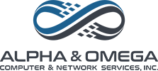 Alpha & Omega Computer & Network Services, Inc. Logo